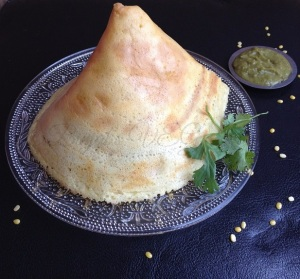 Instant Moong Dal Dosa