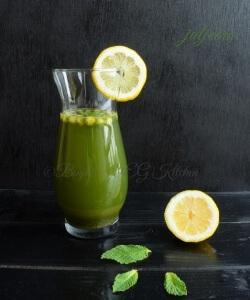 Jaljeera (Minty Cumin Lemonade)