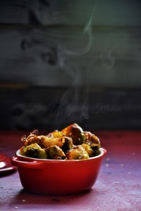 Brussel Sprout Stir Fry