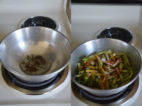 Ivy Gourd Stir Fry 2