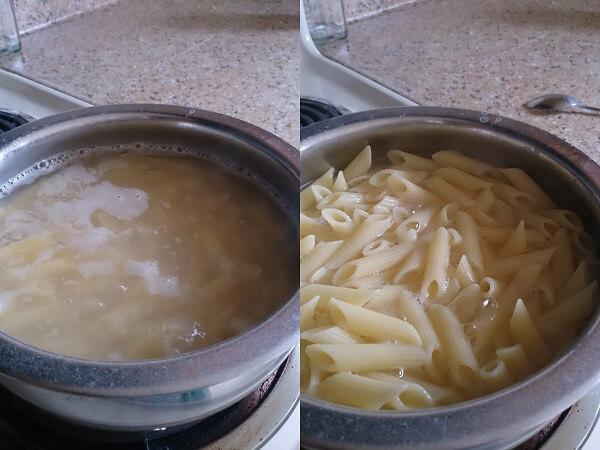 Vegetable Pasta White Sauce 1