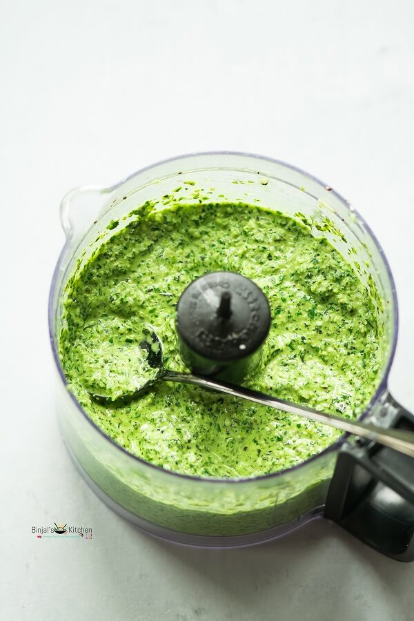 Basil Walnut Pesto