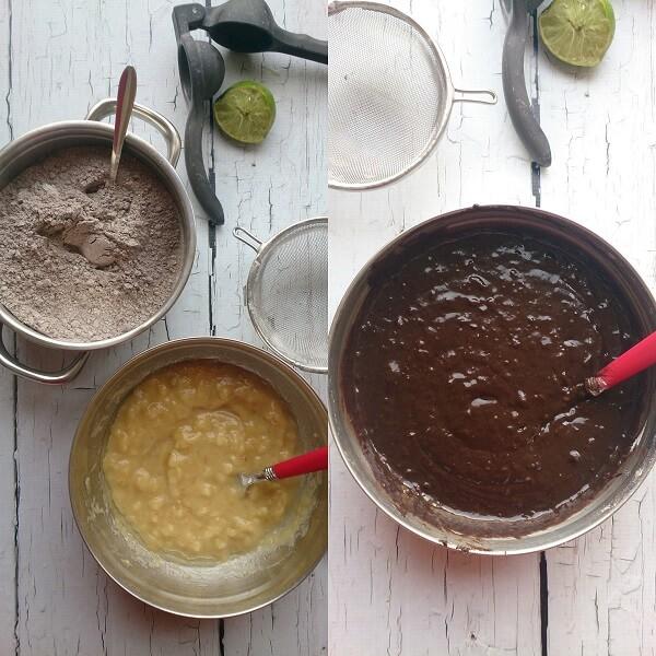 Chocolate Banana Cake 2