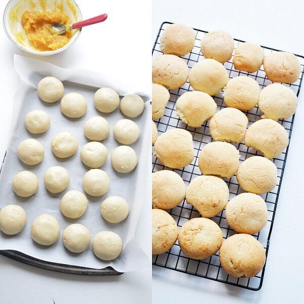 Pineapple Coconut Eggless Cookies 4