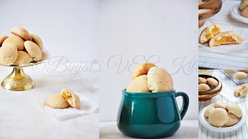 Pineapple Coconut Eggless Cookies
