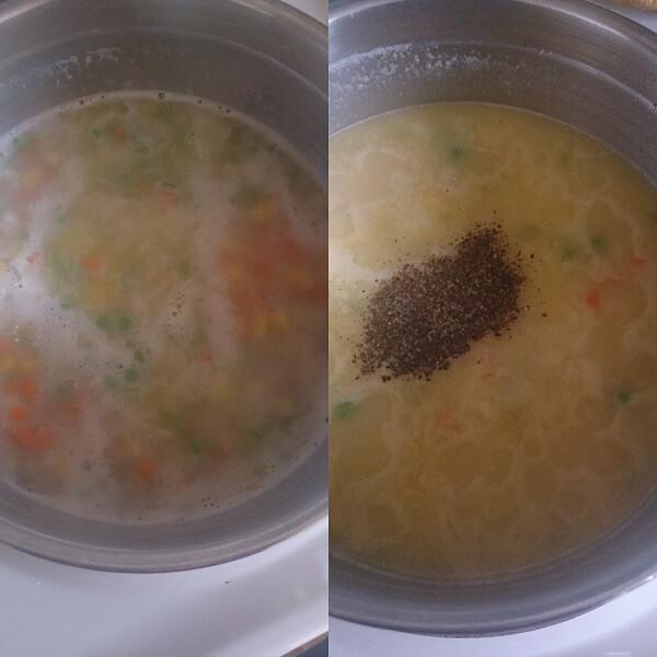 Veggie Sweet Corn Soup 3