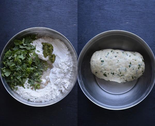 Pudina Lachha Paratha 1