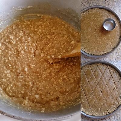 Peanut Flax Seeds Powder Bar Chikki 3