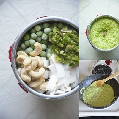 Baby Potatoes Green Gravy 3