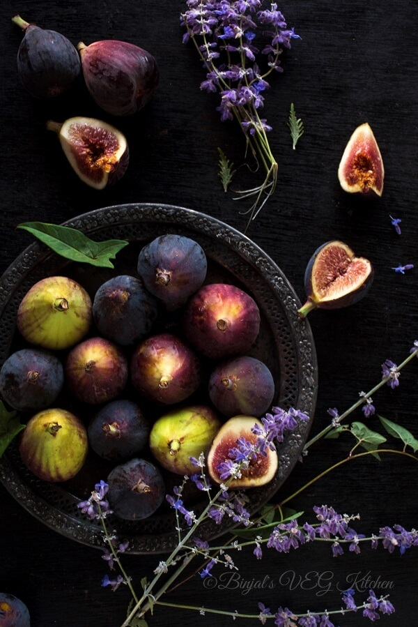 Fig Ice Cream Photography