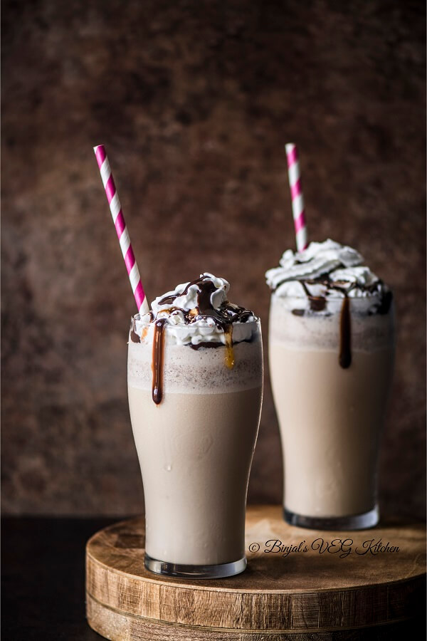 Homemade Frappuccino Photography