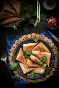 Spanakopita Triangles (Spinach Pie)