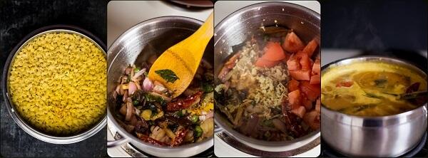 Restaurant Style Dal Fry M