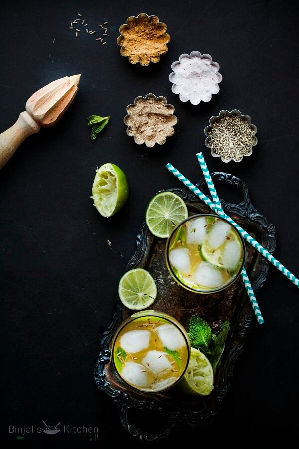 Nimbu Masala Soda Photography