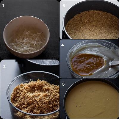 No Bake Eggless Mango Cheescake M