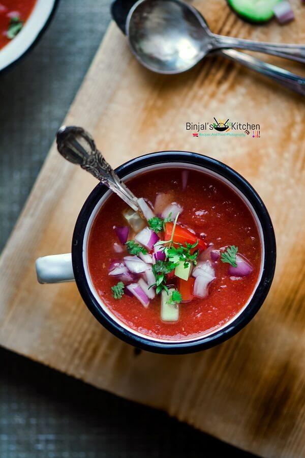 Watermelon Gazpacho